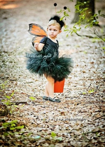 SHE'S SO CUTE! | DIY Butterfly Halloween Costume Idea for Toddler Girl
