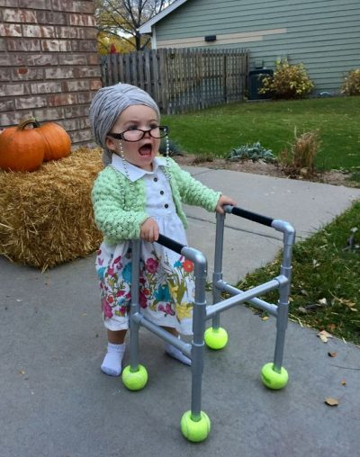She's the most adorable grandma I have ever seen!