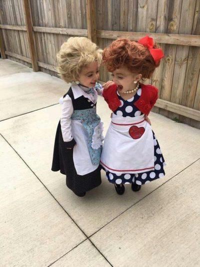 I LOVE this! I Love Lucy Halloween costume for toddler girls!