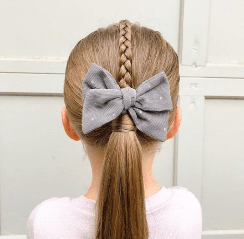 | Toddler Girl Hairstyles for School