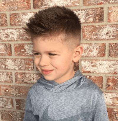 Love his hair cut! He's so handsome ❤