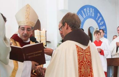 The First Priesthood Ordination for the St. Francis Foundation of Russia and Kazakhstan