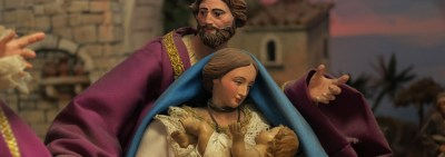 The weary world rejoices: Nativity scenes bring joy to hardened hearts