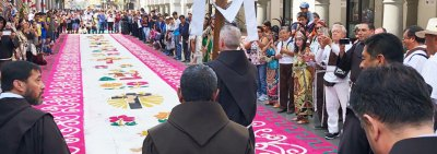 Meeting of the General Definitorywith the Bolivarian and Our Lady of Guadalupe Conferences