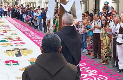Meeting of the General Definitory with the Bolivarian and Our Lady of Guadalupe Conferences