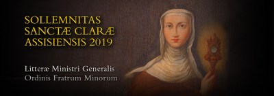 Feast of St. Clare 2019: Letter of the Minister General