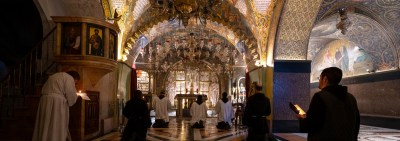 The Holy Land: The Basilica of the Holy Sepulchre in the times of Covid-19