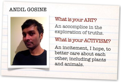 What is your ART. Andil Gosine