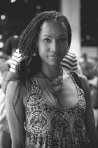 Me -bw- at PowerHouseBooks by J Quazi Babatunde King on FOLORUNSHO fb page