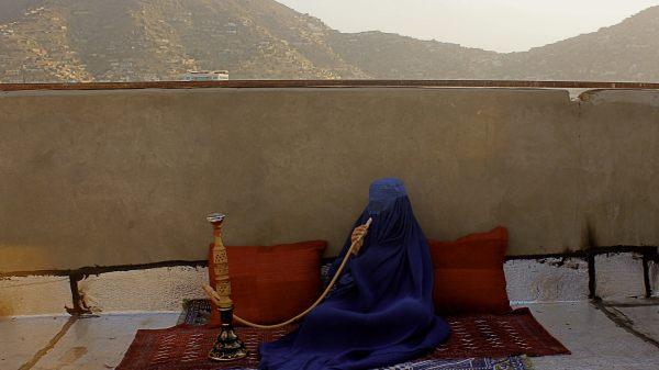 Dome of the Secret Desires-hookah. Hangama Amiri
