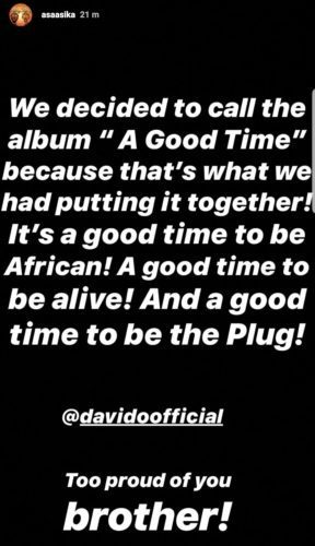 Baddest!!! Davido discloses Title To His Forthcoming Sophomore Album 3