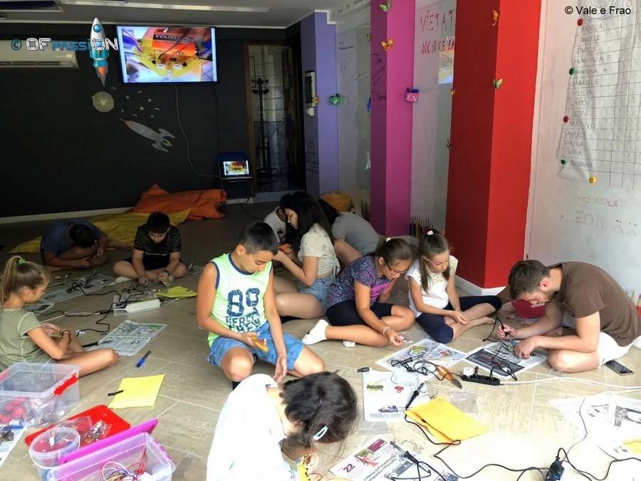 attività di robotica centri estivi summer camp