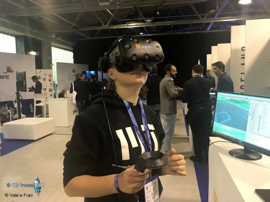 vr realtà virtuale simulazioni valeria cagnina Futureland Milano