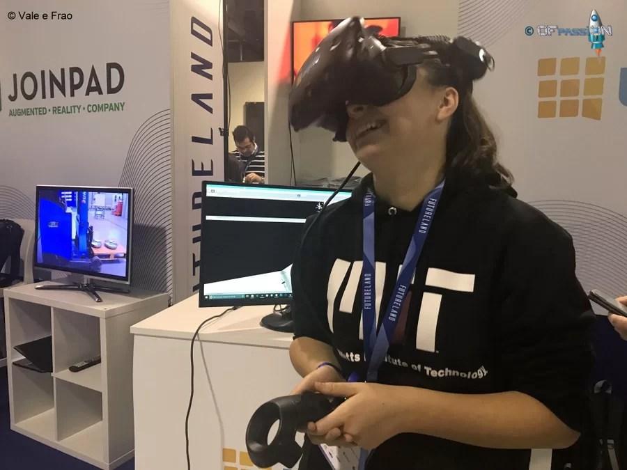 simulazione realtà virtuale valeria cagnina ofpassion