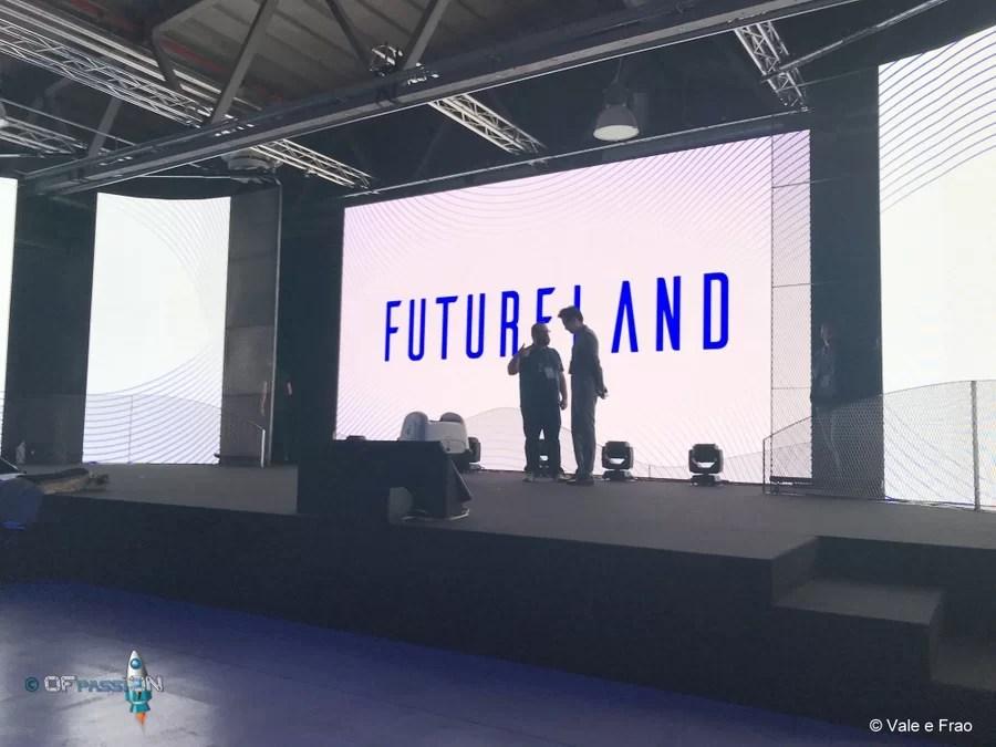 preparazione palco di Futureland Milano ofpassion