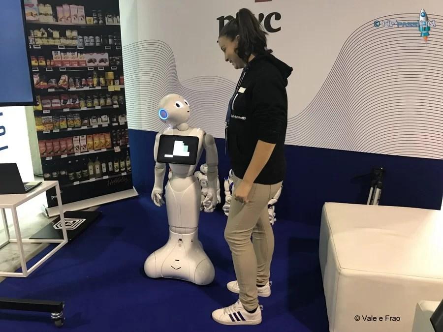interazione robot valeria cagnina ofpassion
