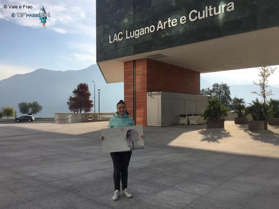 LAC lugano arte e cultuna valeria cagnina speaker alla conferenza a Lugano
