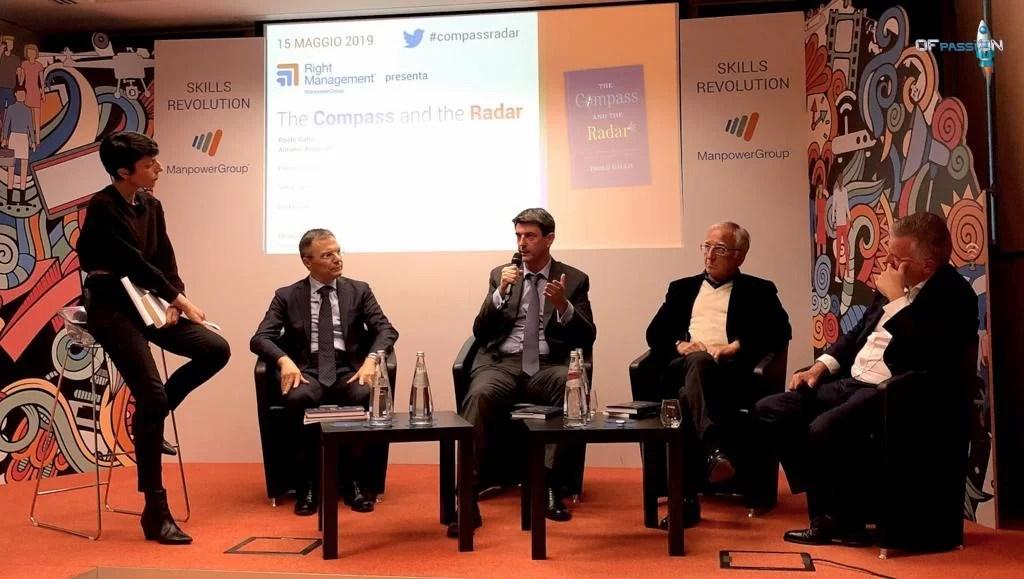 presentazione the compass and the radar con ofpassion presente