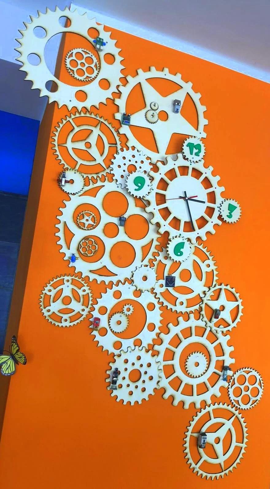 orologio design laserato lasercutter (4)