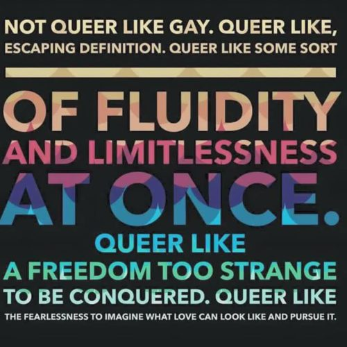 Queer Like Escaping Definition
