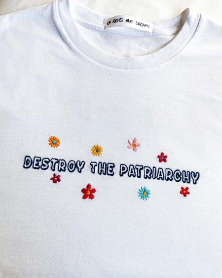 destroy-the-patriarchy-flowers