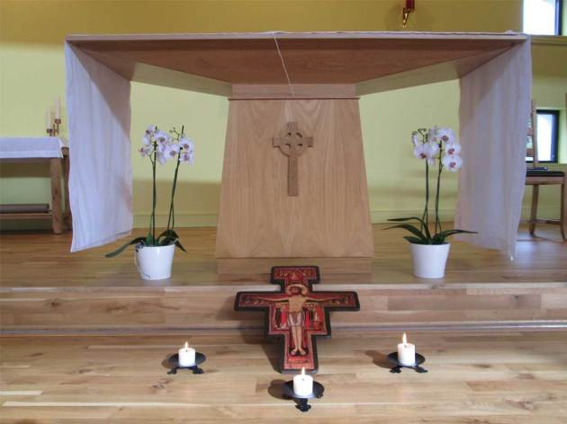 Celebrating the Transitus of St Francis: San Damiano fraternity, Inverness, at St Columba's Church, Culloden.