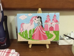 princess paint by numbers