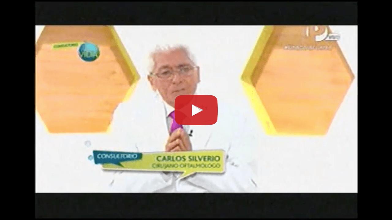 Enfermedades de párpado con el Dr. Carlos Siverio Saffirio