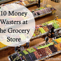 10 Money Wasters at the Grocery Store