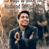 25 Ways to Make Your Husband Smile Today