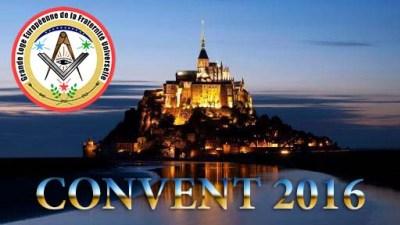 Troisième Convent GLEFU – 2016 Compte Rendu