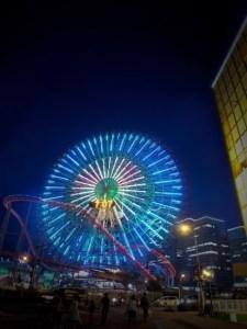 遊園地 夜景