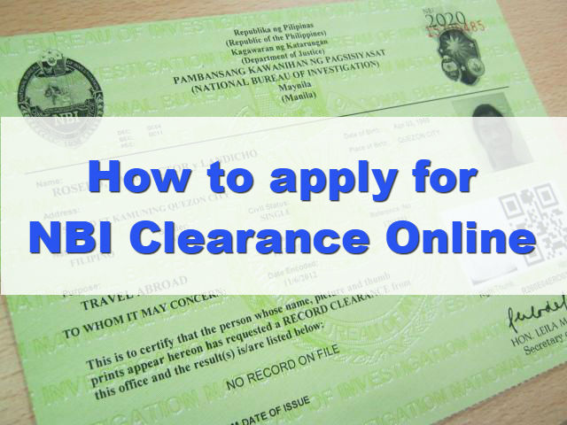 How to Apply for NBI Clearance Online (New and Renewal) - OFW Help