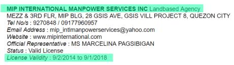 MIP-Internation-Manpower-Services-Licensed-Validity