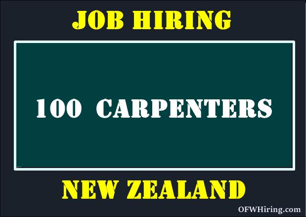 Carpenter-Job-Hiring-for-New-Zealand