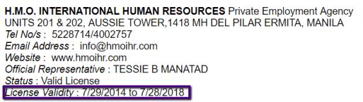 H.M.O._INTERNATIONAL_HUMAN_RESOURCES_License_Validity