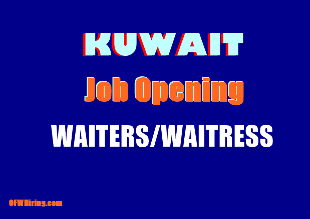 Job-Hiring-of-Waiters-and-Waitress-for-Kuwait.