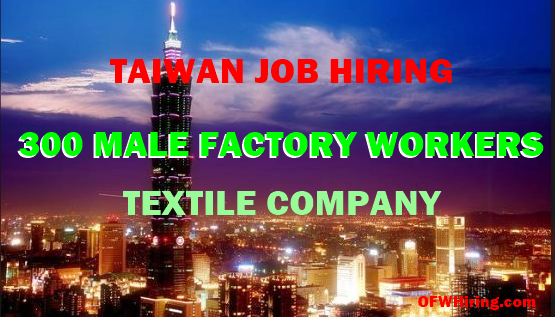 Taiwan-Job-Opening-For-Factory-Workers-Textile