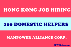 Domestic-Helper-Job-Opening-for-Hong-Kong