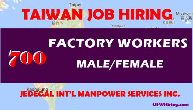 Factory-Worker-Job-Opening-for-Taiwan