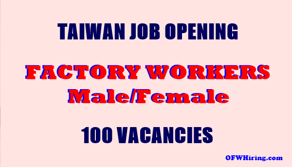 Job Hiring for Factory Worker in Taiwan?fit=600%2C343&ssl=1&resize=350%2C200 domestic worker job opening for singapore ofw hiring wiring harness jobs in abroad at suagrazia.org