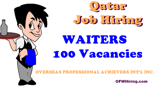 Job-Opening-for-Waiters-in-Qatar