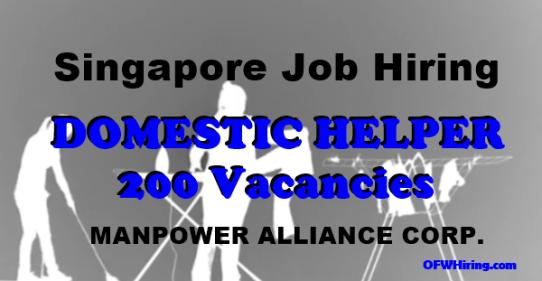 Domestic-Helper-Job-Hiring-in-Singapore