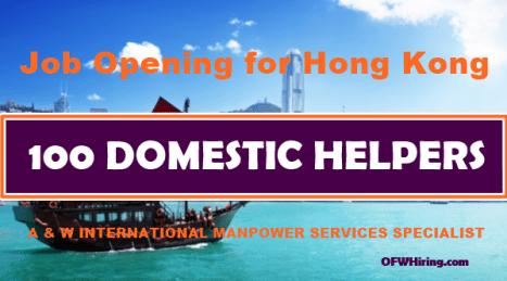 Hong-Kong-DH-Job-Hiring