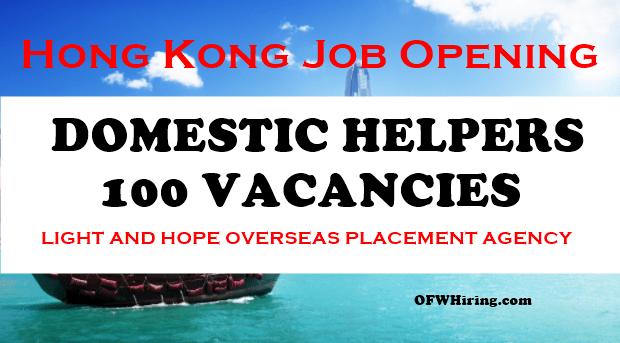 Hong-Kong-Job-Hiring-for-Domestic-Helper-2018