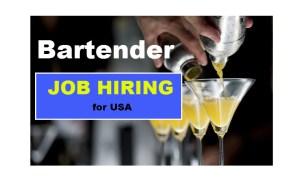 bartender job hiring