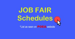 poea job fair 2017