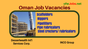 OFW JOBS NETWORK – Work Abroad – Page 4 – Find job openings
