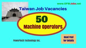 Taiwan-Machine-Operators-job-hiring