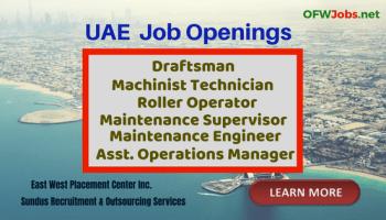 Saipan Job Hiring: Steel Workers, Technicians, Electricians